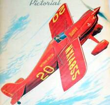 """Huge Berkeley BUSTER PLAN for a 48"""" Span 1/4-Scale RC Model Airplane"""