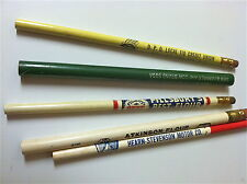 Lot 2 of 5 Vintage Novelty Pencils