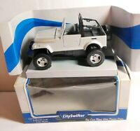 CITY SWIFTER - DIECAST - 4X4 WD - OPEN TOP - SILVER - 83520 - BOXED