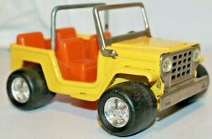 """CUTE BEAUTY 1970's Vintage BUDDY L JEEP CJ FAT SAND TIRES DUNE BUGGY CAR Toy~6"""""""