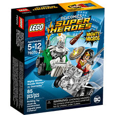 LEGO DC Super Heroes Mighty Micros: Wonder Woman vs. Doomsday 76070 NEW