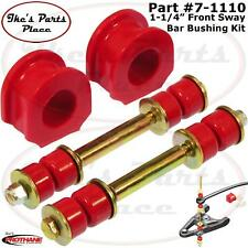 """Prothane 7-1110 Front 1-1/4"""" Sway Bar&End Link Bushing Kit 85-99 Chevy/GMC"""