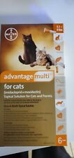 Advantage for cats Flea treatment for Small 5-9 lbs New Single Tube 30 days