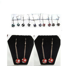 12 pairs Multi Color Plastic Dice Casino Post Drop Dangle Earring Wholesale Lots