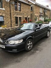 Saab 9-3 2.0 SE 205BHP Turbo Convertible Black
