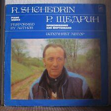 RODION SHCHEDRIN - Piano Works - MOЗГ - С 10-18131-2 RARE!