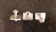 Fin screw & plate-3 pcs-SUP,Longboard,surfboard-New-Stainless steel-fin Hardware