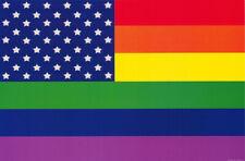 POSTER : GAY PRIDE  RAINBOW FLAG -      FREE SHIPPING !!   #3441  LP46 X