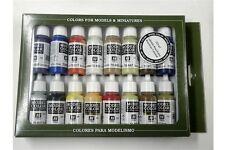 Vallejo 16 Color Sistema De La Pintura val70147 Modelo Color Set American Colonial