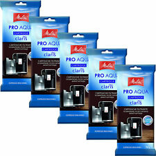 5 x Melitta Pro Aqua Claris Wasserfilter 2-9903-62
