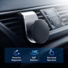 Car Phone Holder 360° Universal Magnetic Mobile Stands Dashboard Air Vent sliver