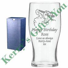 VAPE PEN BIRTHDAY GIFT IDEAS - ENGRAVED PINT GLASS - SMOKING DESIGN FOR HER HIM