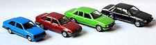 Opel Corsa A, Kadett E, Rekord E1, Senator A1, 4er Set 1:87 Herpa 288163