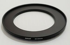 Sensei 58-82mm Lens Filter Step-Up Ring- Excellent Condition