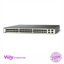More details for cisco catalyst 3750 ws-c3750-48ps-s 48 port poe switch