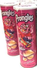 Prongles Cards Against Humanity Salt Potato Chips 1 Pink Can CAH New Expired