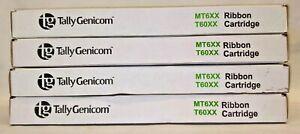 Tally Genicom 080294 Black Fabric Ribbon Cartridge for MT660, MT690, T60XX 5-pk