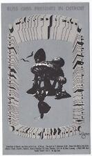 MINT ORIGINAL 1968 CANNED HEAT GRANDE BALLROOM POSTCARD ART OF ROCK PAGE 245