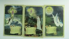 Bamforth Song Postcards 1913 x 3 ROCK OF AGES Angel Theme No 4712/1/2/3
