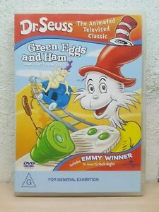 Dr Seuss - Green Eggs And Ham (DVD, 2004) + The Grinch Night - REGION 4 AUSTRALI