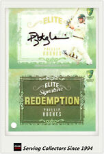 2009-10 Select Cricket Trading Cards Signature Redemption ES4 Phillip Hughes