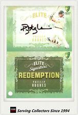 2009-10 Select Cricket Trading Cards Signature Redemption ES4 Phillip Hughes