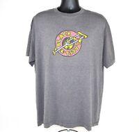 Black Label Skateboards Mens Size XL Vtg T Shirt Logo with Crutch Skateboard