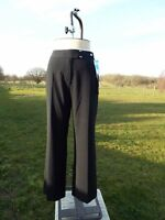 Flattering M&S Black Bootleg Stretch Trousers Size 14 Med BNWT RRP £19.50