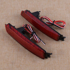 Pair Red Bumper Reflector Tail Brake LED Light Fit for Nissan Infiniti FX35 FX37