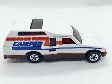 RARE Hot Wheels Blackwall Minitrek Good Times Camper Brown Base Mint 1982