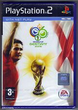 PS2 2006 FIFA World Cup, REGNO UNITO PAL, Nuovo & SONY sigillato in fabbrica