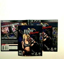 (MANUAL AND ARTWORK ONLY) (NO GAME) PS3 - Lollipop Chainsaw