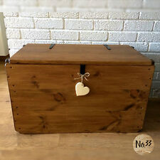 Handmade wooden chest/ trunk/ blanket box/ toy box/ coffee table