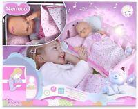 Nenuco-700014059 Cunita Duerme Conmigo Color Rosa Famosa 700014059