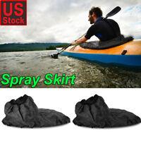Adjustable Waterproof Nylon Kayak Spray Skirt Cover Water Sport Universal