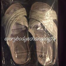 Avon~BRAND NEW & SEALED~White Slider Sandals~SIZE 4