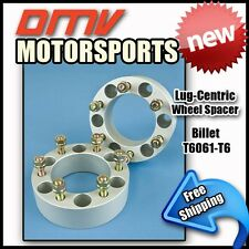 """25MM (1"""")   Silver Wheel Spacers   Dodge 6x114   71.5   1/2"""" UNF"""