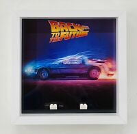 Display Frame for Lego Ideas Back to the future 21103 minifigures figures