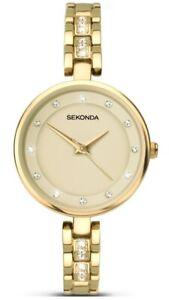 Sekonda Mujer Piedra Set Reloj 2384 Nuevo