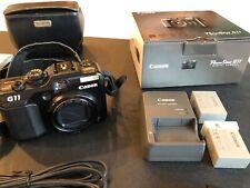 New listing Canon PowerShot G11 10Mp Compact Digital Camera - Black, good condition