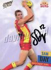 ✺Signed✺ 2013 GOLD COAST SUNS AFL Card SAM DAY