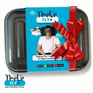 NapUp Fly Plus - In-Flight Head Support System with Integrated Headphones