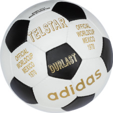 New ADIDAS Match ball of FIFA World Cup 1970-Leather FootBall-Size 5-Soccerball