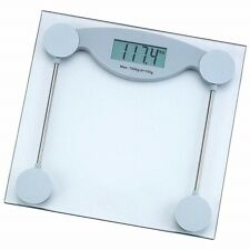 330lb Electronic Body Weight Scale Tempered Glass LCD Digital Bathroom + Battery