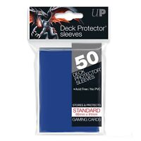 Ultra PRO Deck Protector Sleeves Standard Card Size BLUE 50ct 66 x 91mm