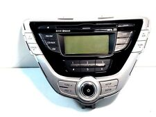 2011 2012 Hyundai Elantra CD DVD Radio Unit P: 3X961-10040-GUQQH OEM Warranty!