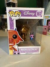 Funko PoP! Disney - Mulan Mushu & Cricket Version Gold #167 Top Has Small Damage