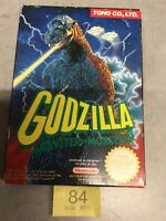 Nes Nintendo Godzilla Monster Monsters