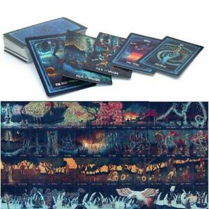 78Pcs Oracle Tarot Cards Guidance Divination Fate Oracle Party Deck English Set