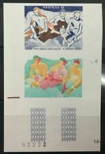Timbres épreuves, essais multicolores avec 1 timbre